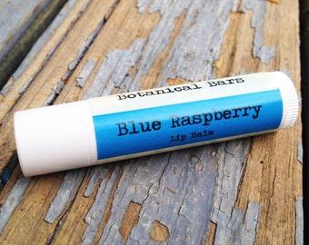 Blue Raspberry All Natural Lip Balm - Gift Ideas - Lip Balm with SPF