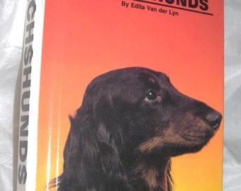 Hard Cover  Book ...Dachsunds  Illustrated......Full Color Photos of The Lovable Dachsund....BK1