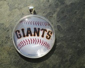 sf giants pendant necklace or ornament