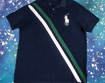 Blue POLO Shirt Size XL