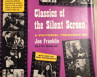 Book, Classics of the Silent Screen by Joe Franklin.