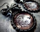 Raven Moon earrings