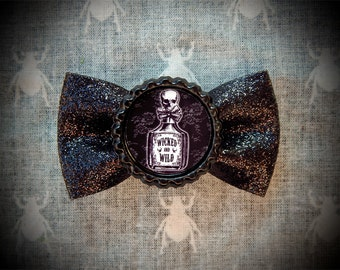 Wicked & Wild hair bow
