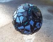 Home Decor, Mosaic Orb, Mosaic Ball, Gazing Ball, Crystal Ball, Romantic Decor, Meditaion Ball
