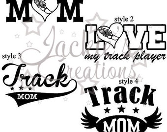 Track/Track Mom Decals