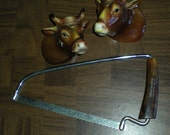 Vintage Culinary Bone Saw With Bakelite Handle From The Lytton Cooperative Lytton Iowa Promotional Customer Gift Give Away