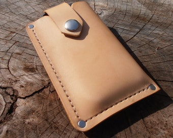 IPhone Holster I Phone Wallet I Phone Leather Case