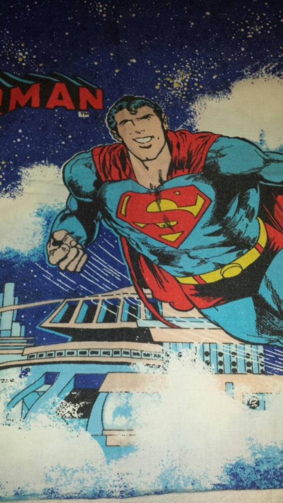 Vtg 1970s DC Comics Superman Man Of Steel by ReminisceVintage