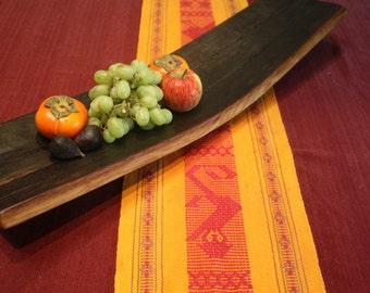 Wine Stave Centerpiece Platter