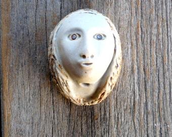 Assemblage Art Supply,Porcelain Doll's Head, Art Doll Supply