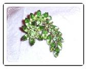 Juliana Green  Brooch -  D&E Refreshing Spring Green   Pin-282a-101410035