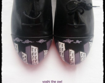 Black City v2 - The Architect Oxfords