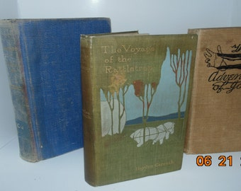 Hayden Carruth Antique Vintage Lot three Books rattletrap jones track's end