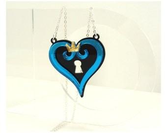 New Kingdom Hearts Inspired Heart Logo Necklace