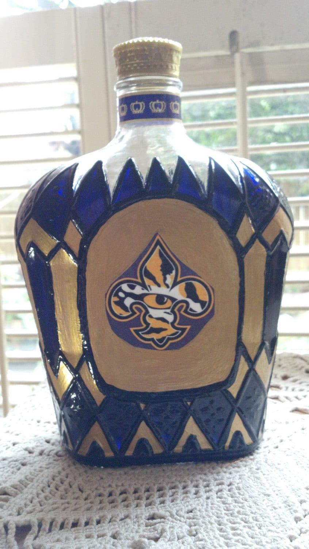 by Royal bottle Louisiana LSU Football  State Crown