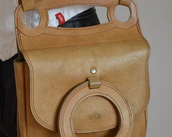 Vintage Handmade Genuine Leather Bag