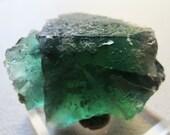 Sale Rare Rogerley Mine Fluorite Crystal Specimen Raw Gemmy Blue Green Large Crystal