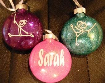 Baton Twirler Christmas Ornament - Twirl - Personalized