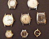 8 Watches. Great for your steampunk projects.