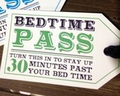 Bedtime Pass (30 Minutes & 1 Hour) - Digital Download