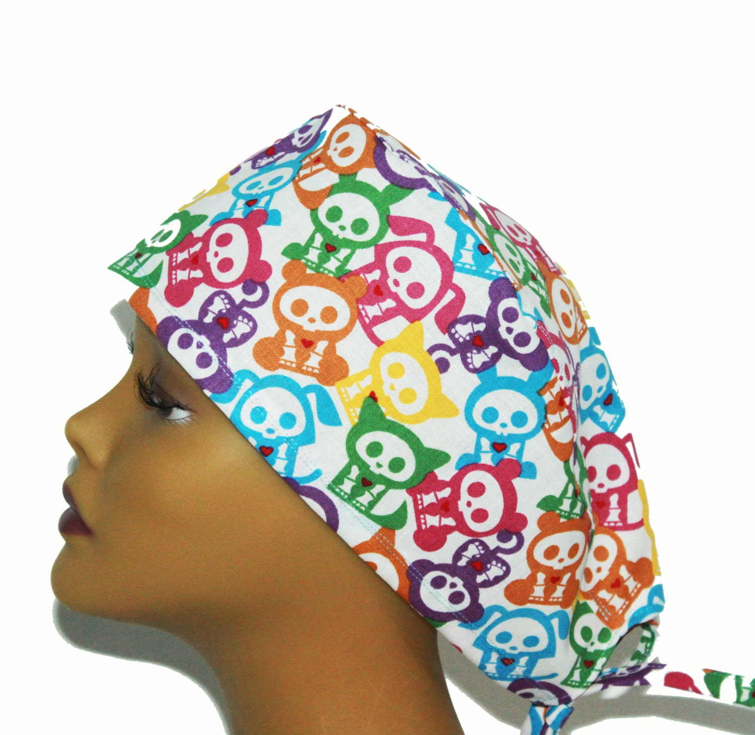 skelanimals scrub hat unique scrub hat scrub hats