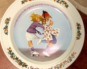 September 1985 Sarah Stilwell Weber plate FREE SHIPPING!