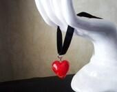 Red Heart Choker