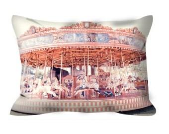 Carousel pillow (includes insert) - Carousel cushion
