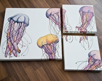 Jelly Field Multicolor/Acrylic on canvas