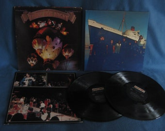 Rare Vintage Deep Purple In Rock Vinyl Lp By Sweetleafvinyl