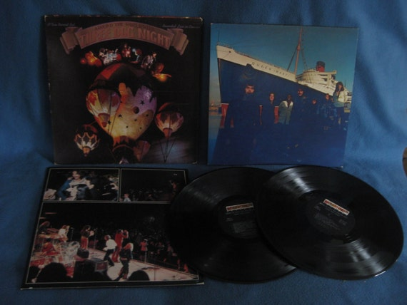 Vintage Three Dog Night Around The World With By