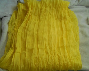 Stunning Soft & Silkie Scarf- Sunshine Yellow-S206