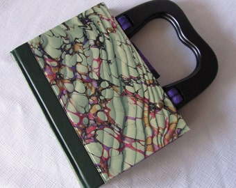 Natural History Altered Book Purse