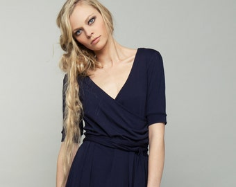 "dress ""phlox"", dark blue"