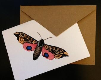 Moth Card