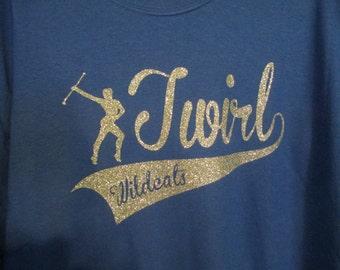 Twirl T-shirt, Twirler T-shirt
