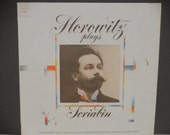 Horowitz Plays Scriabin - Piano Etudes - Sonata - 2 Poems - Columbia Masterworks 1973 - Vintage Classical LP Record Album