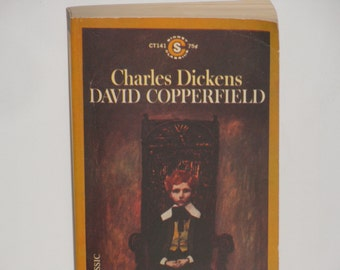 david copperfield charles dickens david copperfield rare paperback edition signet classic second printing 1964 vintage