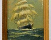 Sailing Ship Plastic 3D Picture