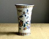 Antique French Vase, Gien Faience Porcelain ca. 1871 - 1875