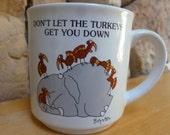 VTG Sandra Boynton Elephant and Turkeys mug
