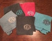 Monogrammed Comfort Colors Sweatshirt / Unisex or Oversized Comfort Colors Sweatshirt / Personalized Sweatshirt