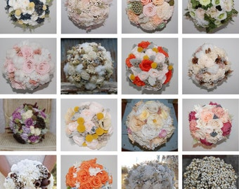 Custom Bouquets - Dried & Preserved Flowers