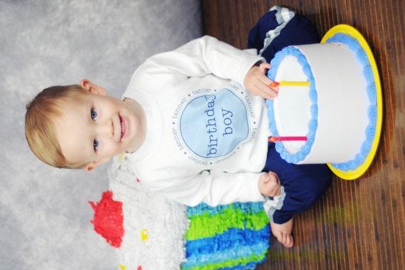 Birthday Boy Tshirt Personalized Custom Birthday Boy T Shirt Boys High Quality Tee