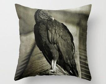 Vulture, Throw Pillow, Photo Pillow, Home Decor, Birds