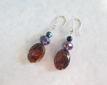 Rustic Gloss earrings