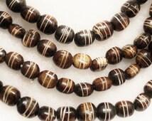 African Bone Beads Made in Kenya (20),Tribal Beads (G92)
