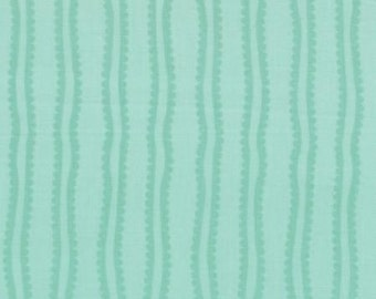 In From the Cold Mint Stripe by Kate Spain for Moda Fabrics 27158 14 Teal Turquoise blue green