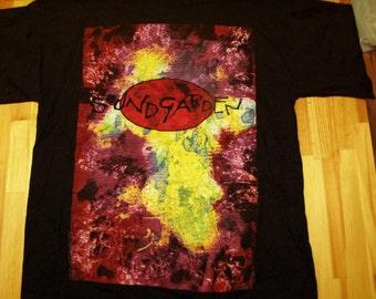 SoundGarden Superunknown Tour T-Shirt 1994, DeadStock, Licensed, Tags, dead stock, European tour, t shirt, Black Hole Sun, spoonman, Seatle