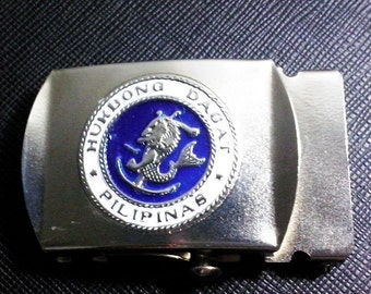 Philippine Navy Belt Buckle
